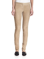 Theory Pittella Suede Skinny Pants