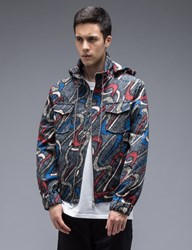 Carven Boomerang Hooded Jacket