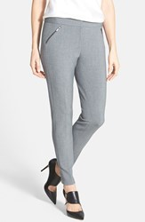Women's Classiques Entier 'City Weave' Zip Pocket Pants Mid Medium Heather Grey