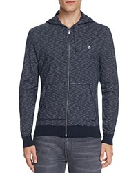 Original Penguin Slub Feeder Stripe Zip Hoodie Griffin