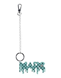 Marc By Marc Jacobs Key Rings Light Green