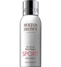 Molton Brown Re Charge Black Pepper Sport Deodorant 150Ml