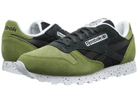 Classic Leather Sm Warm Olive Black Gravel White Men's Shoes Green