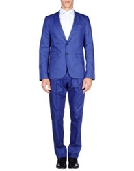 Les Hommes Suits Bright Blue