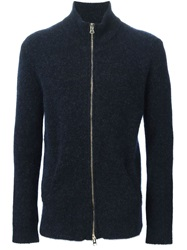 Laneus Zip Sweater Blue
