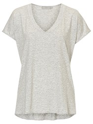 Betty Barclay V Neck Top Grey