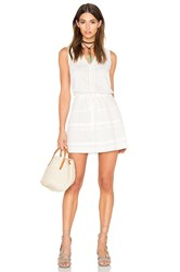 Paige July Dress White