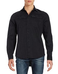 Guess Denim Sportshirt Black