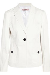 Red Valentino Redvalentino Cotton Twill Jacket White