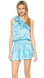 Paloma Blue Riviera Dress Ikat Jade