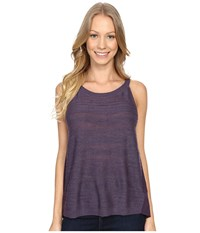 Smartwool Palisade Trail Tank Top Desert Purple Heather Women's Sleeveless