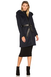 Soia And Kyo Arya Coat Blue