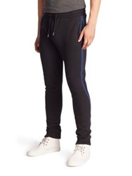 Diesel Black Gold Techno Bonded Fleece Skinny Sweatpants Black