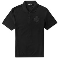 Alexander Mcqueen Military Badge Polo Black