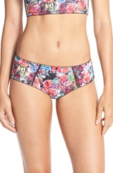 Panache 'Breeze' Briefs Floral Multi