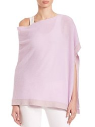 Lilly Pulitzer Heather Cashmere Wrap Iced Lilac