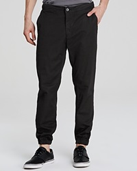 Ag Adriano Goldschmied Rover Travel Chino Jogger Pants Super Black
