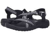 Skechers Reggae Kooky Black Gray Women's Sandals