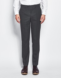 The Idle Man Suit Trousers In Slim Fit Grey