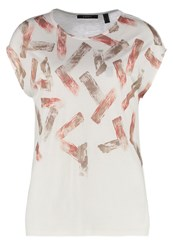 Esprit Collection Print Tshirt Off White Off White
