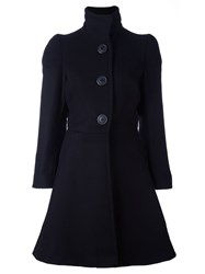 Vivienne Westwood Anglomania Flared Coat Black
