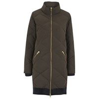 Gestuz Women's Salvia Coat Olive Green