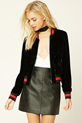 Forever 21 Contemporary Velour Jacket