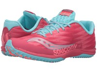 Saucony Kilkenny Xc Flat Berry Light Blue Women's Shoes Pink