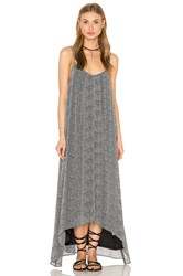 Bishop Young Printed Maxi Dress Black And White