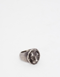 Simon Carter Lion Ring Silver