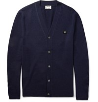 Acne Studios Dasher C Wool Cardigan Navy
