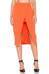 Finders Keepers Sweet Talker Skirt Orange