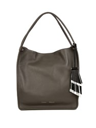 Proenza Schouler Leather Medium Tote Bag Grey