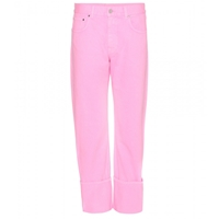 Christopher Kane Turned Up Jeans Pink