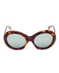 Oliver Goldsmith Audrey Sunglasses Amber Green Golden