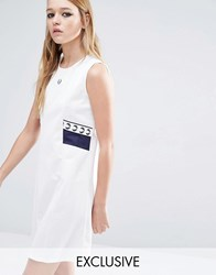 Fred Perry Archive Trico Dress White