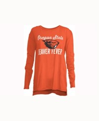 Royce Apparel Inc Women's Oregon State Beavers Noelle Long Sleeve T Shirt Orange