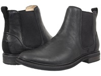 Ugg Leif Black Leather Men's Pull On Boots