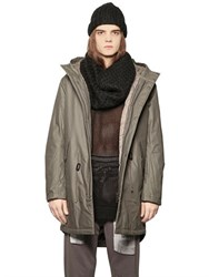 Cheap Monday Softly Waxed Cotton Canvas Parka