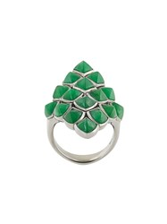 Stephen Webster Long Finger Ring Green