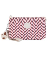 Kipling Creativity Extra Large Cosmetic Pouch Zest Red
