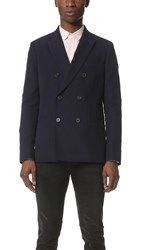 Melindagloss Double Breasted Jacket Navy