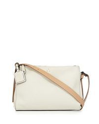 Kelsi Dagger Wythe Leather Crossbody Bag Linen