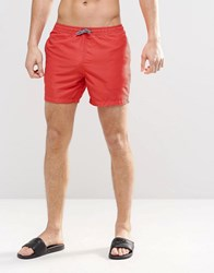 New Look Swim Shorts In Red Red