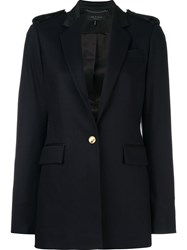 Rag And Bone Fitted Dinner Jacket Blue