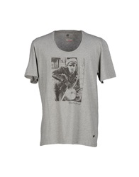 Red Soul T Shirts Grey