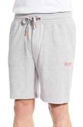 Boss Men's 'Authentic' Lounge Shorts Medium Grey