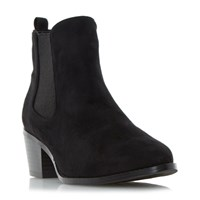 Head Over Heels Perina Point Chelsea Boots Black