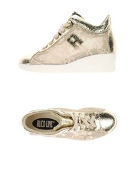 Ruco Line Footwear Low Tops And Trainers Women Gold