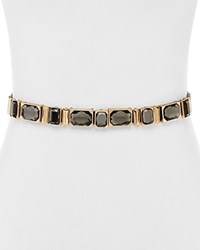 Ivanka Trump Snap Rivet Rhinestone Belt